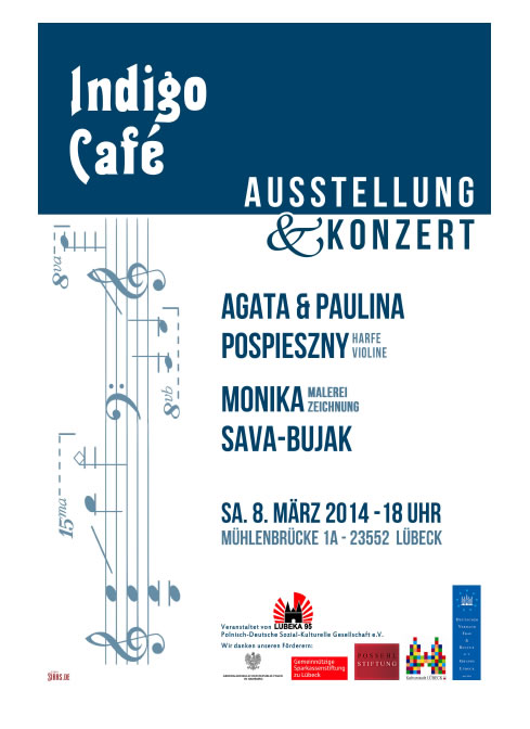 Indigo Cafe - Monika Bujak-Sava mit Paulina und Agata Pospieszny